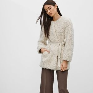 Wilfred Laboratoire furry coat